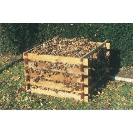 Bac à compost 100 x 100 x 63 cm SOLID