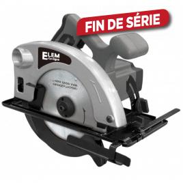 Scie circulaire SC1801-G 1200W 185 mm ELEM ECOLINE