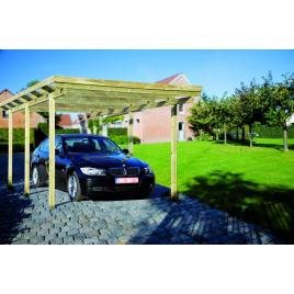 Carport Hamburg 304 x 510 x 210 cm CARTRI