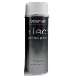 Primer en spray Deco effect 0,4 L MOTIP - Blanc