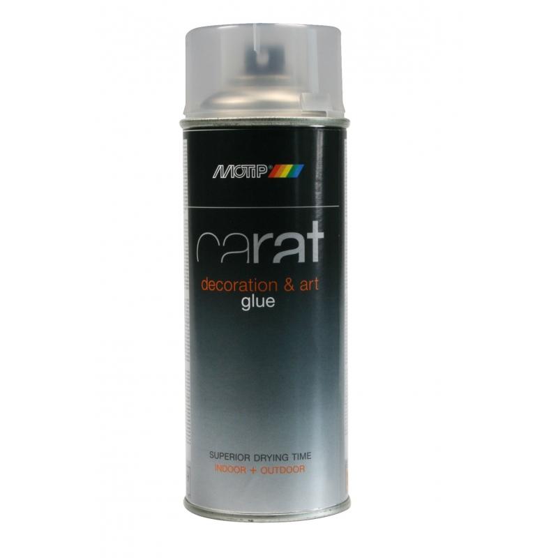 colle en spray carat 0 4 l motip. Black Bedroom Furniture Sets. Home Design Ideas