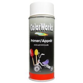 Primer en spray 0,4 L ColorWorks - Blanc