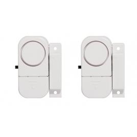 Set de 2 mini-alarmes d'ouverture et avertisseur d'entrée