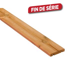 Plancher de terrasse ThermoPin 2000 x 12 x 2,1 cm 4 pièces I-CLIPS