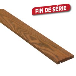 Planche de terrasse ThermoFrêne 200 x 12 x 2,1 cm 4 pièces I-CLIPS
