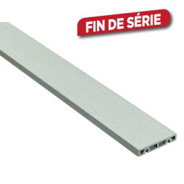 Planche de terrasse Composite Grey 2000 x 12 x 2,1 cm 4 pièces I-CLIPS