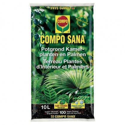 Terreau pour plante d'intérieur Sana 10 L COMPO