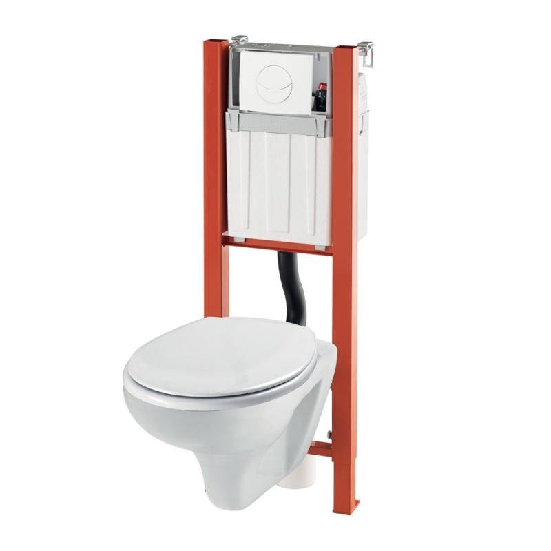 Wc suspendu sortie verticale wc a poser pack a poser pack - Mr bricolage brive ...