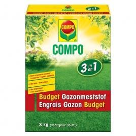 Engrais gazon Budget 3 kg COMPO