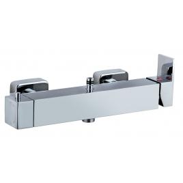Mitigeur douche mécanique carré spécifique
