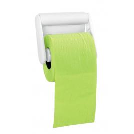 Dérouleur papier wc Color line - Blanc