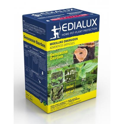 action contre les mauvaises herbes difficiles genoxone garden 240 ml edialux. Black Bedroom Furniture Sets. Home Design Ideas