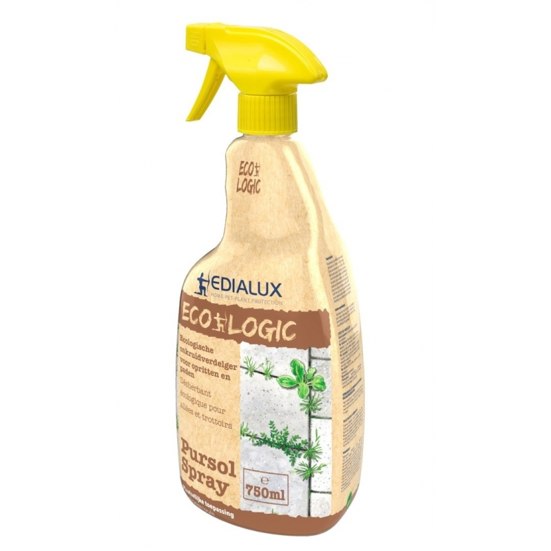herbicide cologique pour all es et trottoirs pursol spray 750 ml edialux. Black Bedroom Furniture Sets. Home Design Ideas