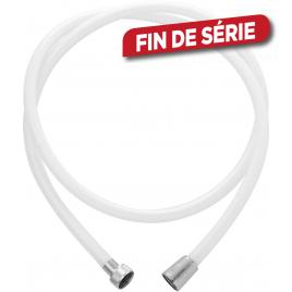 Flexible de douche pvc Blanc