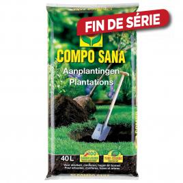 Amendement de sol pour plantations SANA 40 L COMPO
