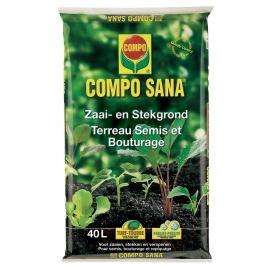 Terreau pour semis et bouturage SANA 40 L COMPO