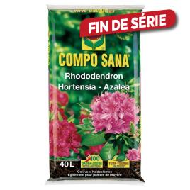 Amendement de sol rhododendron, hortensia et azaleée SANA 40 L COMPO