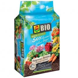 Terreau universel Bio 50 % plus léger COMPO