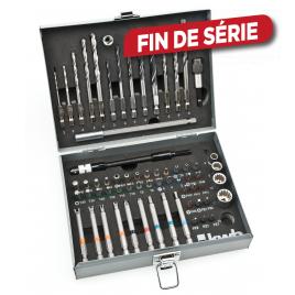 Mallette d'accessoires pour outils électroportatifs 67 pièces