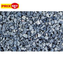 Gravier concassé décoratif en calcaire gris 6,3/14 mm 25 kg Mr.Bricolage