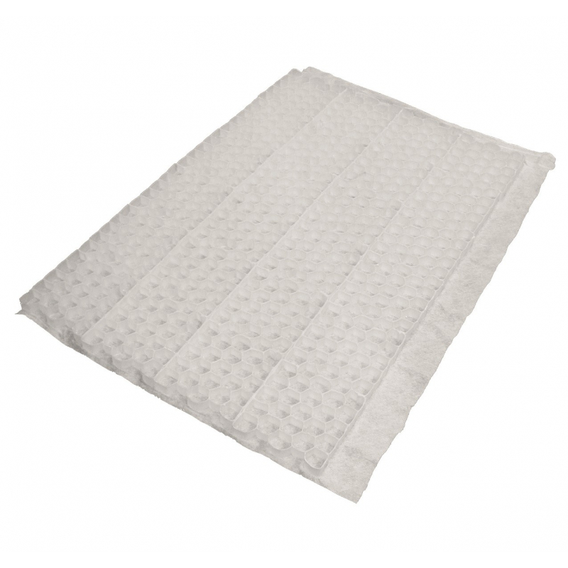 Plaque De Stabilisation Du Gravier Nidagravel Blanc 120 X 80 X 29 Cm Mrbricolage