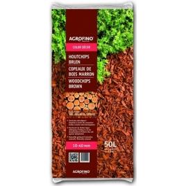 Copeaux de bois brun 50 L AGROFINO