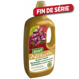 Engrais pour géranium et plantes fleuries 1 L NATUREN
