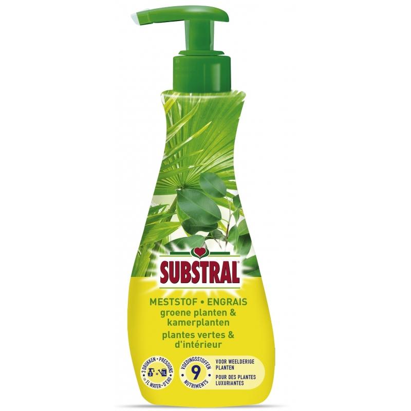 Engrais liquide pour plantes vertes et d 39 int rieur substral - Engrais plante verte ...