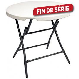 Table pliante ronde CONMETALL - 74 cm