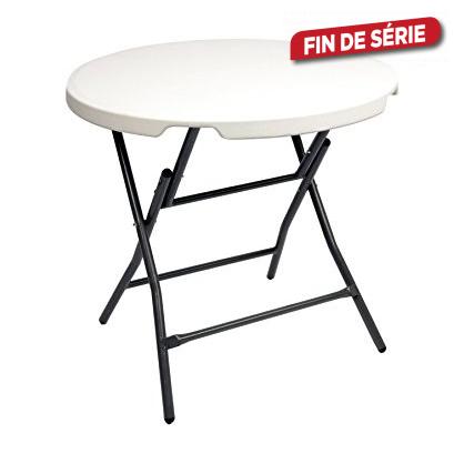 Table pliante ronde CONMETALL