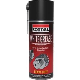 Graisse blanche lubrifiante en spray 400 ml SOUDAL