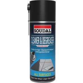 Dégraissant et nettoyeur en spray 400 ml SOUDAL