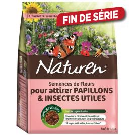 Semence de fleurs pour attirer papillons et insectes utiles 782 gr NATUREN