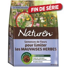 Semence de fleurs pour limiter les mauvaises herbes 782 gr NATUREN