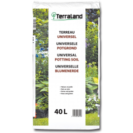 Terreau universel 40 L TERRALAND