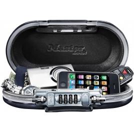 Mini-coffre de sécurité avec câble de fixation intégré 6 x 24 x 12,9 cm MASTER LOCK