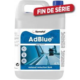 Fluide de réduction des gaz d'échappement AdBlue 4,7 L KEMETYL