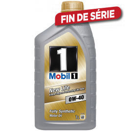 Huile moteur Fully Synthetic New Life 0W-40 GSP 1 L MOBIL