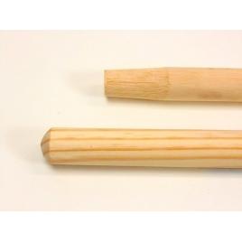 Manche à balais bois 1,50 m/ 28mm