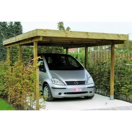 Carport pour voiture Leipzig 3,04 x 5,1 x 2,1 m CARTRI