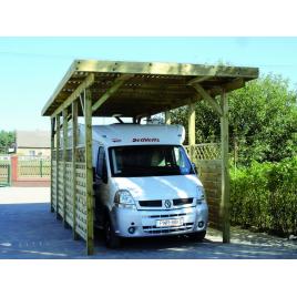 Carport pour mobilhome Bochum 3,4 x 7,6 x 3,6 m CARTRI