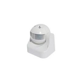Détecteur de mouvement PIR 180° blanc