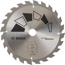 Lame pour scie circulaire standard 184 x 20 mm BOSCH