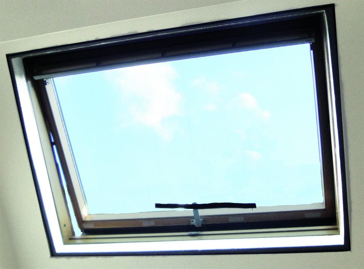 Tringle Pour Fenetre De Toit moustiquaire spéciale fenêtre de toit 180 x 150 cm confortex