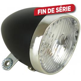 Feu avant 3 LED Classique Noir pour vélo