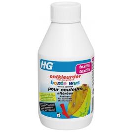 Lessive spéciale pour couleurs altérées HG