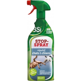 Répulsif chats et chiens Stop-Spray BSI
