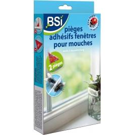 Piège adhésif fenêtre pour mouches BSI