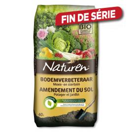 Amendement du sol potager et jardin NATUREN - 40 L