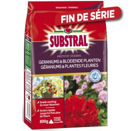 Engrais pour géraniums et plantes fleuries en granulé 800 gr SUBSTRAL